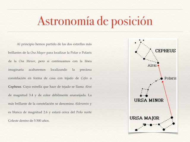 Astronomía de posición fotos.012