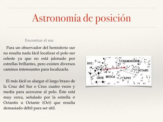 Astronomía de posición fotos.013