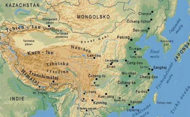 Čína adrůbeží maso