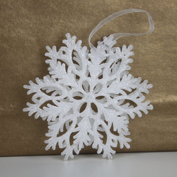 Snowflake Bauble Silver by Masons Home Decor Singapore (2)