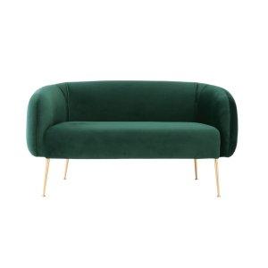 alero main 2 seater dark green sofa by masons home decor singapore