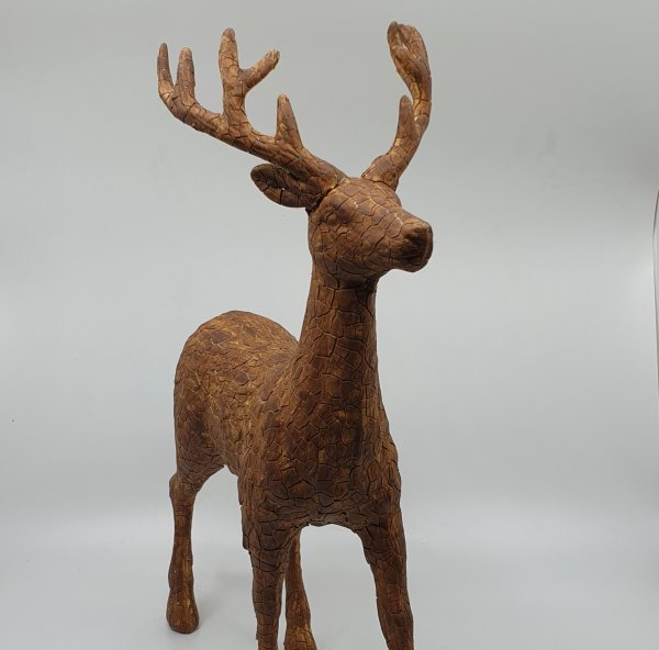 Wooden Reindeer By Masons Home Decor