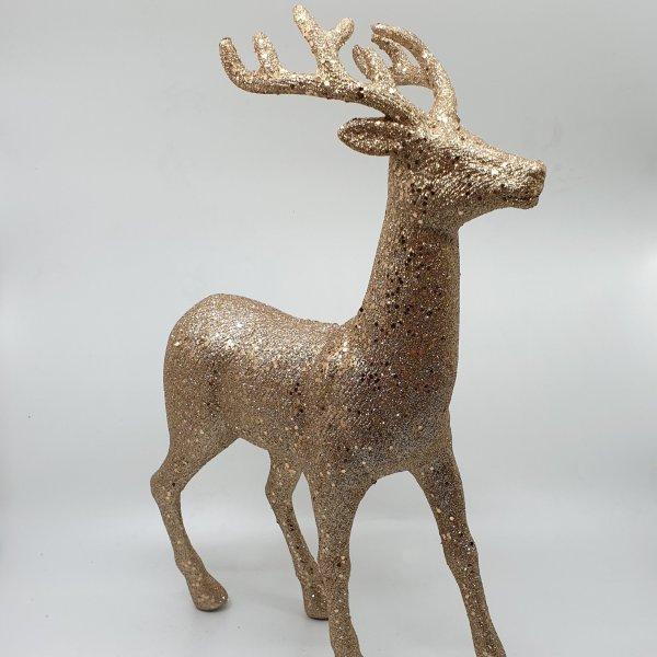 Glittery Reindeer By Masons Home Decor