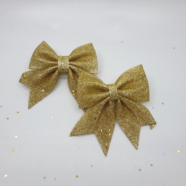 Glittery Gold Ribbons by Masons Home Decor