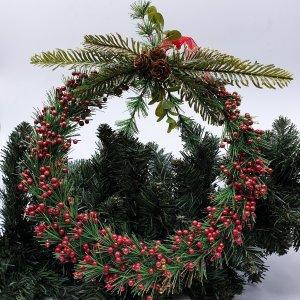 Ruby Wreath by Masons Home Decor