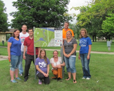 2013-2014 Disc Golf Course Service Project
