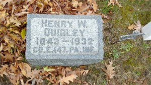 graves of henry quigley 1