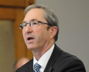 Mason County Prosecutor Paul Spaniola.