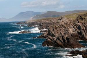 The seashore, Achill Island, County Mayo.