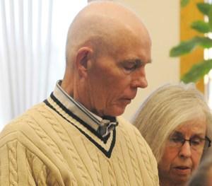 Paul T. Butterfield, father of Trooper Paul K. Butterfield II addresses the court.