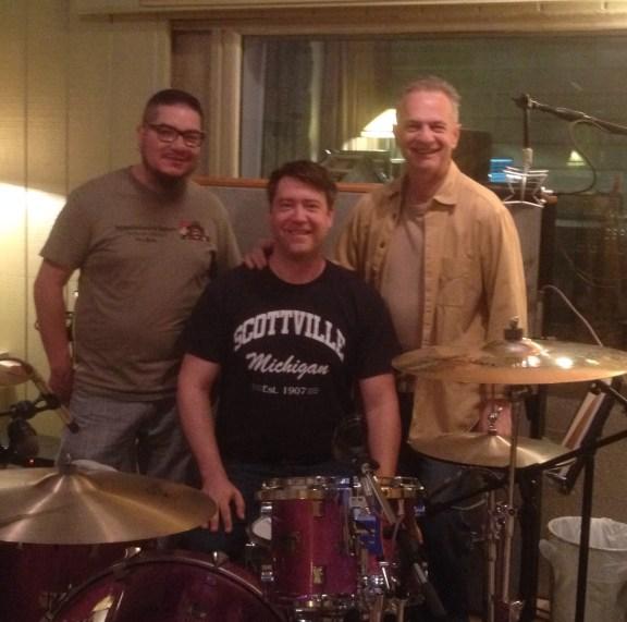 Left, Brian Burwell, Luke Rangel and Edgar Struble.