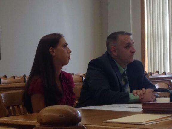 Stephanie Lynn Joynes with her attorney, Al Swanson, Jr.