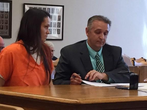 Tonya Johnson with her attorney Al Swanson, Jr.