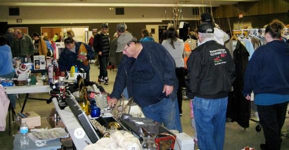 optimist garage sale