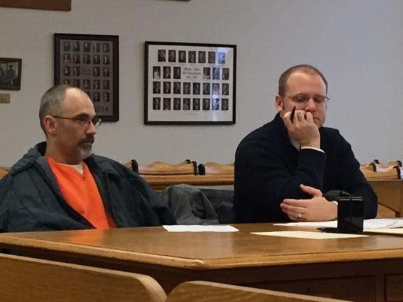 Jeffrey Nitz with his attorney, David Glancy.