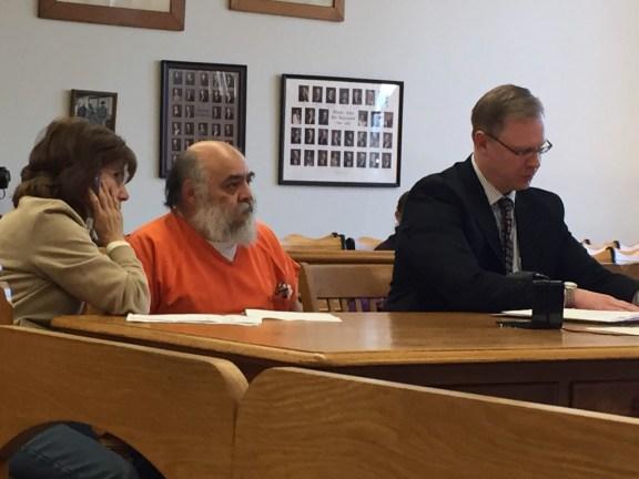 Arturo Ruiz Lopez with translator Viola Sotomayor and attorney Ryan Glandville.