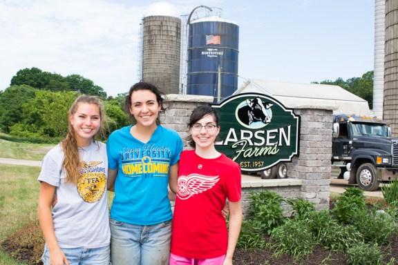 Leta, Lindsay and Leah Larsen.