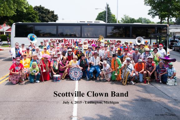 The Scottville Clown Band