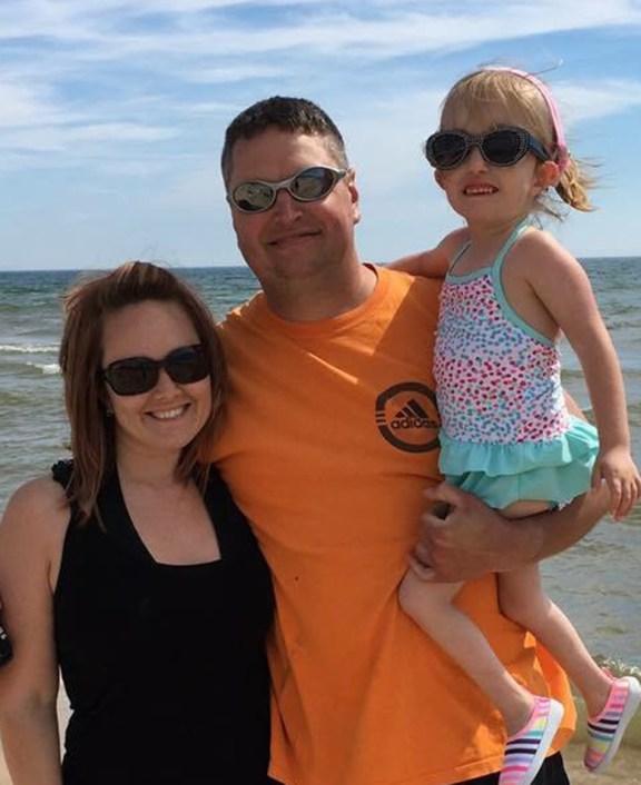 Stephanie, Steve and Mallie.