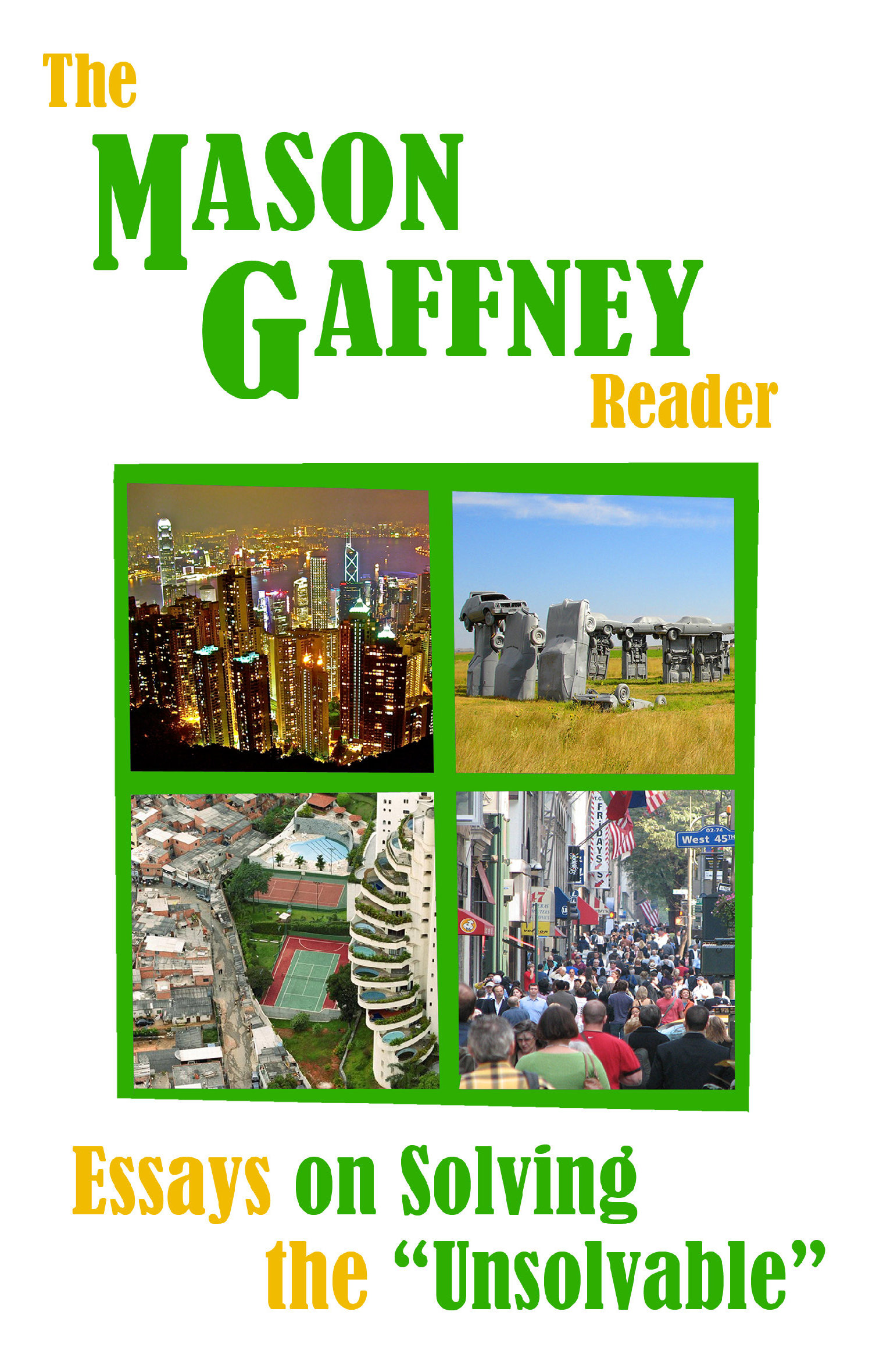 Mason Gaffney Reader cover