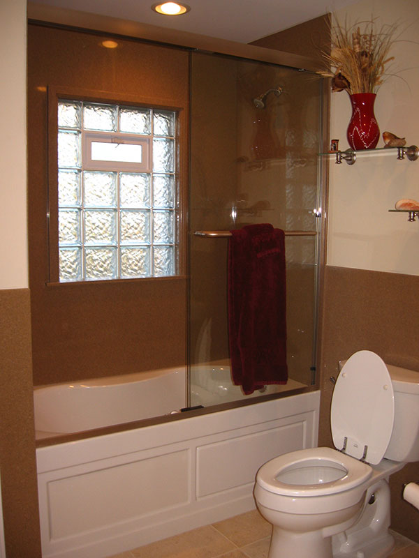 Glass Block Windows For Bathrooms #26: Glass Block Windows For The Bathroom And Shower In St Louis