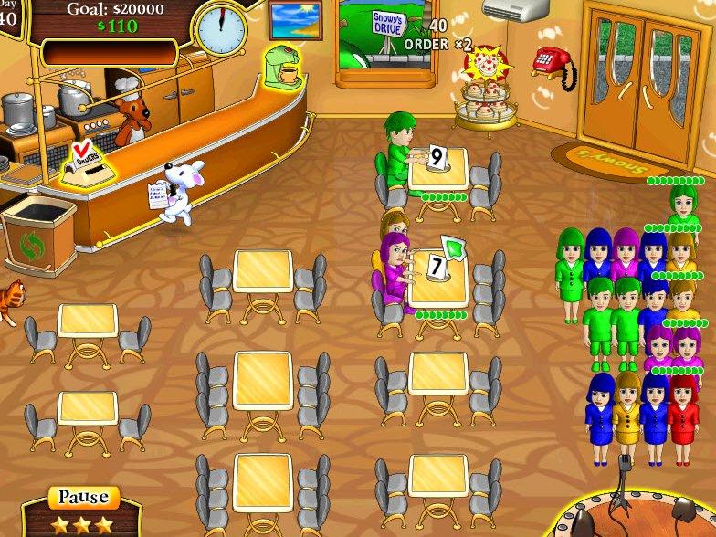 Games Where You Run Restaurant