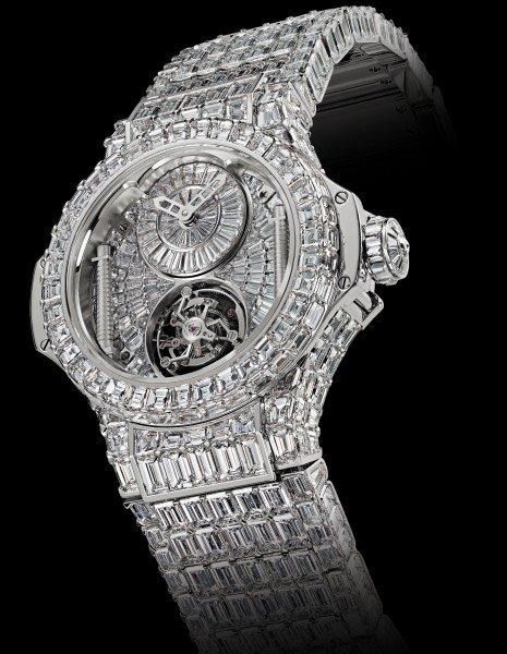 reloj ostentoso