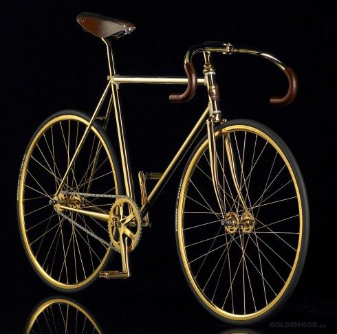 aurumania golden bike swarovski