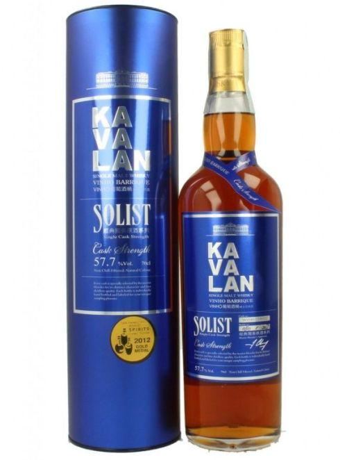 mejor whisky mundo Kavalan solist Vinho Barrique