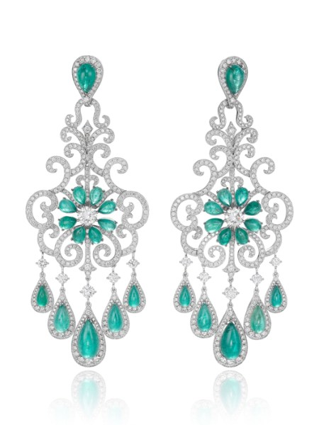 pendientes CHOPARD RED CARPET