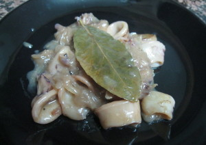 Receta de calamares 'a la sencilla'