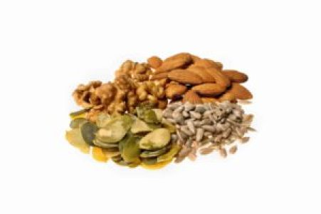 Almendras , nueces y pipas ayudan a mantener el colesterol a raya!