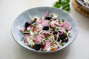 recetas con gulas ensalada