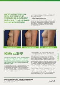 Mommy Makeover antes y después del embarazo biyo salvador revista