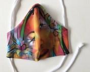 """Masque en tissu """"Amour Sorcier"""""""