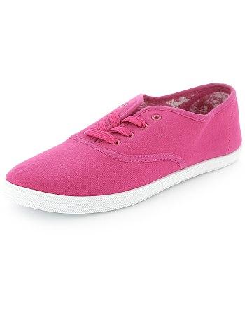 deportivas rosas kiabi