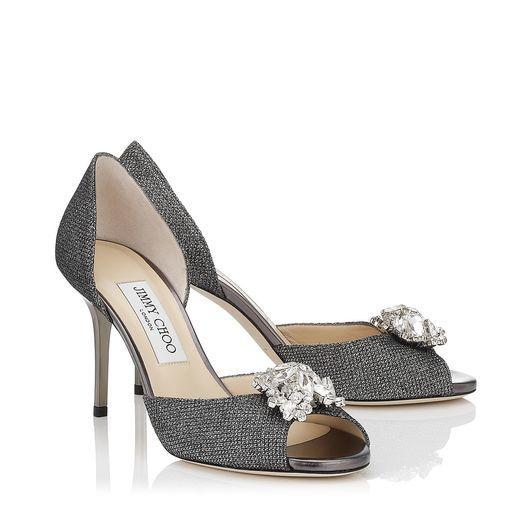 sandalias glitter estilo cenicienta