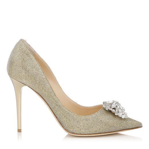 zapatos dorados estilo cenicienta jimmy choo