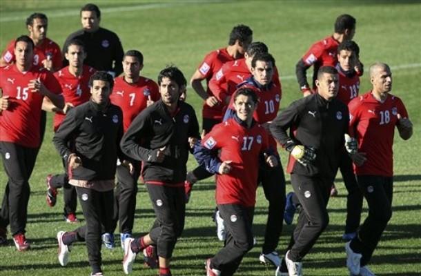 مباراة منتخب مصر مع زامبيا