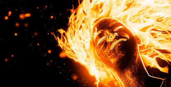 فوزية اشعلت النار في نفسها لرفض زوجها عملها معه