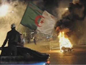 توابع احداث مباراة مصر والجزائر في السودان