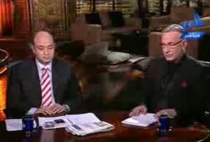 علاء مبارك في القاهرة اليوم مع عمرو اديب و احداث مباراة مصر والجزائر في السودان