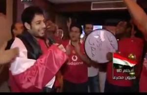 محمد حماقي و احداث مباراة مصر والجزائر في السودان