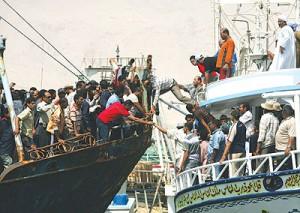 ليبيا تعتقل 13 صياد مصري من كفر الشيخ