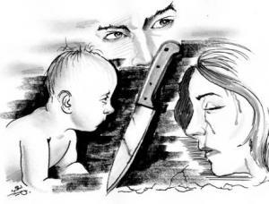 جزائري يقتل زوجته وام ابنته الرضيعة بسبب علاقتها الجنسية مع زوج اختها