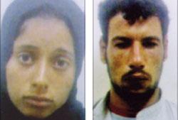 قاتلا سائق اطفيح الخفير وزوجته