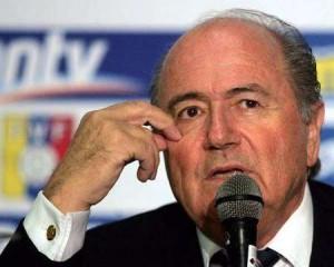 جوزيف بلاتر رئيس الاتحاد الودولي لكرة القدم الفيفا