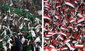 زيادة قوات الامن في بنجيلا لحماية المنتخب والجماهير المصرية | مباراة مصر والجزائر