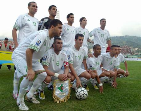 تشكيل المنتخب الجزائري في مباراة مصر والجزائر اليوم   انجولا 2010