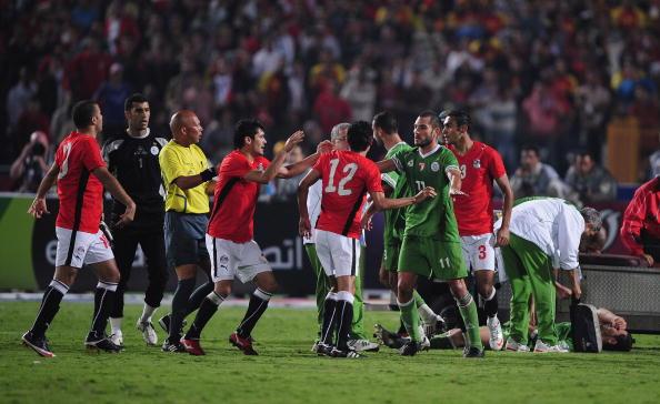 مباراة مصر والجزائر تار ونار أم مباراة اشقاء | انجولا 2010